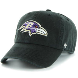 Baltimore Ravens NFL Unstructured Large Baseball Caps fits Sizes 3XL-4XL