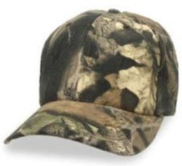 Camo Mossy Oak Breakup Structured Baseball style Big Hats fits Size 3XL