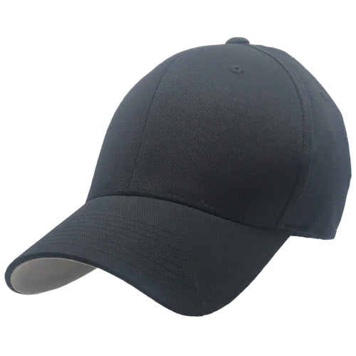 Big Black Flexfit Hats to fit Sizes 3XL and 4XL