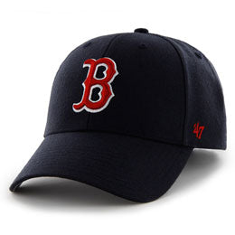 Boston Red Sox Embroidered MLB Structured Ball Caps for Big Heads fits Size 3XL