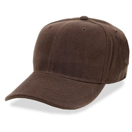 Brown Fitted Hats for Big Heads in Sizes 7 3/4 and Size 8