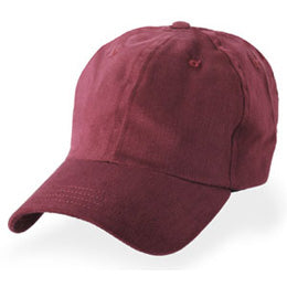 Burgundy Unstructured Baseball Hats for Large Heads fits Size 3XL caps