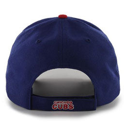 Chicago Cubs MLB Structured Baseball Hats for Big Heads fits cap Size 3XL back-view