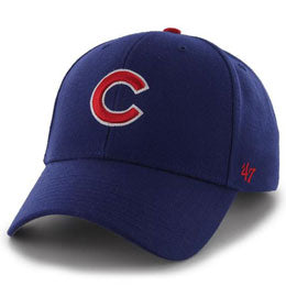 Chicago Cubs MLB Structured Baseball Hats for Big Heads fits cap Size 3XL