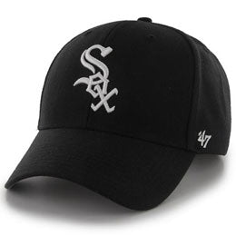 Chicago White Sox MLB Structured Ball Caps for Big Heads fits hat Size 3XL