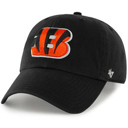 Cincinnati Bengals NFL Unstructured Large Baseball Caps fits Sizes 3XL-4XL