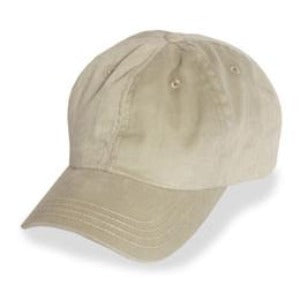 Cream Unstructured Baseball Hats for Large Heads fits Size 3XL