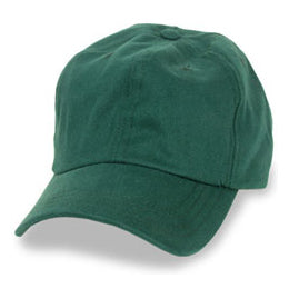 Dark Green Unstructured Baseball Hats for Men with Big Heads in Size 3XL