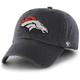 Denver Broncos NFL Unstructured Extra Large Baseball Caps fits Sizes 3XL-4XL