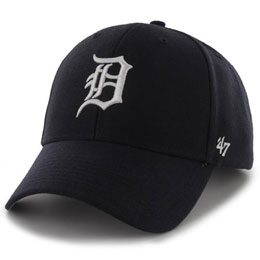 Detroit Tigers MLB Structured Baseball Caps for Big Heads fits hat Size 3XL