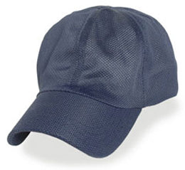 Extra Large Mesh Hats in Navy Blue All Coolnit for size 3XL