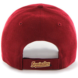 Florida State (FSU Seminoles) NCAA Structured Baseball Big Caps, fits Size 3XL, back-view