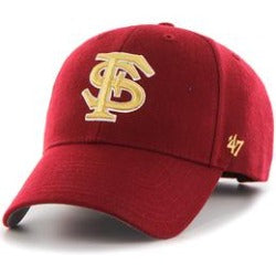 Florida State (FSU Seminoles) NCAA Structured Baseball Big Caps, fits Size 3XL