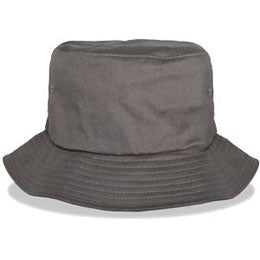 Gray lightweight outdoor Big Bucket Hats with sweatband fits cap Sizes 3XL