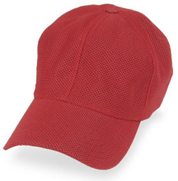 Hats for Large Heads in Red with All Coolnit for size 3XL