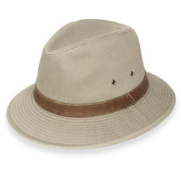 Hiking Sportsman Style Fedoras for Big Heads available in Sizes XXL and 3XL