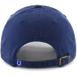 Indianapolis Colts NFL Unstructured Large Baseball Caps fits Sizes 3XL-4XL back view