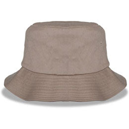 Khaki Big Bucket Hats with sweatband for outdoors fits cap Sizes XXL 3XL