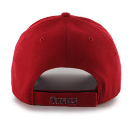 Los Angeles Angels MLB Structured Baseball Hats for Big Heads fits cap Size 3XL back view