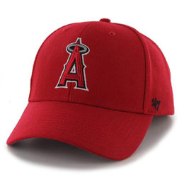 Los Angeles Angels MLB Structured Baseball Hats for Big Heads fits cap Size 3XL