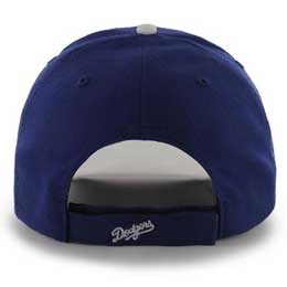 Los Angeles Dodgers MLB Structured Baseball Caps for Large Heads fits Size 3XL back view