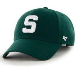 Michigan State University (MSU Spartans) NCAA Structured Big Caps fits Size 3XL