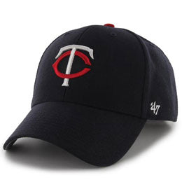 Minnesota Twins MLB Structured Baseball Caps for Big Heads fits hat Size 3XL