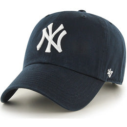 New York Yankees MLB Unstructured Ball Caps for Big Heads fits Sizes 3XL to 4XL