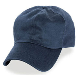 Navy Blue Big Mesh Hats with Partial Coolnit in sizes 3XL and 4XL