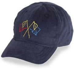 Navy Blue with Nautical Flags in Baseball Hats for Large Heads in Size 3XL