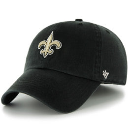 New Orleans Saints NFL Unstructured Extra Large Baseball Caps fits Sizes 3XL-4XL