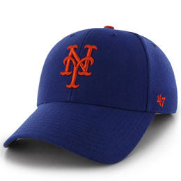 New York Mets MLB Structured Baseball Hats for Big Heads fits cap Size 3XL