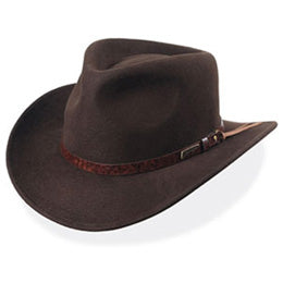 OverSized Outback Cowboy Hats with Leather Trim fits Size XXL big heads
