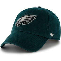 Philadelphia Eagles NFL Unstructured Extra Large Baseball Caps fits Sizes 3XL-4XL
