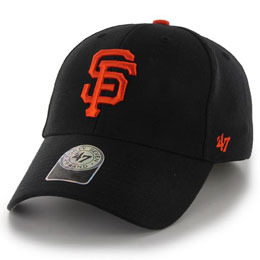 San Francisco Giants MLB Structured Baseball Hats for Big Heads fits Size 3XL