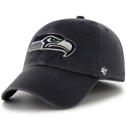 Seattle Seahawks NFL Unstructured Big Baseball Caps fits Sizes 3XL-4XL