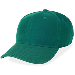 Size 8 Fitted Hats in Hunter Green, also available in Fitted Size 7 3/4