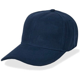 Size 8 Fitted Hats in Navy Blue, also available in Fitted Size 7 3/4