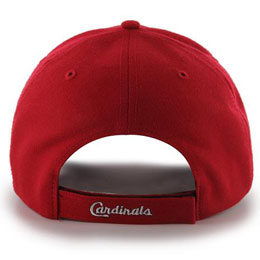 St Louis Cardinals MLB Structured Baseball Hats for Large Heads fits Size 3XL back view