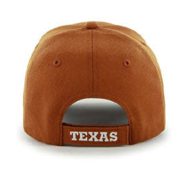 Univ of Texas (UT) Longhorns NCAA Structured Baseball Big Caps, fits Size 3XL, back-view
