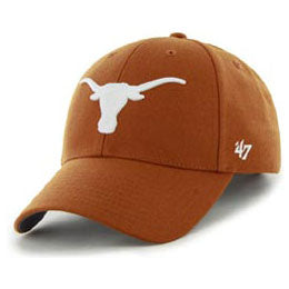Univ of Texas (UT) Longhorns NCAA Structured Baseball Big Caps, fits Size 3XL