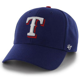 Texas Rangers Embroidered MLB Structured Ball Caps for Big Heads fits Size 3XL