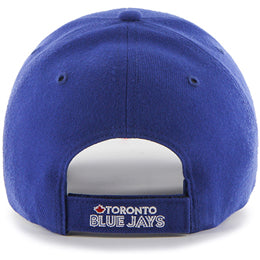 Toronto Blue Jays MLB Structured Baseball Caps for Big Heads fits hat Size 3XL back view