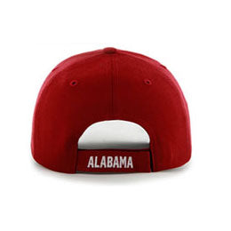 Alabama Crimson Tide NCAA Script A Logo Structured Big Caps fits hat Size 3XL, back view