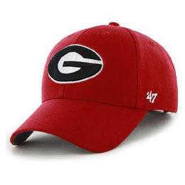 Univ of Georgia Bulldogs NCAA Structured Baseball style Big Caps, fits Size 3XL