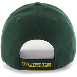 Univ of Oregon Ducks NCAA Structured Big Caps in Baseball style, fits Size 3XL, back-view