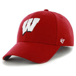 University of Wisconsin Badgers NCAA Structured Big Caps, fits hat Size 3XL