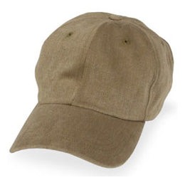 Earth Khaki Unstructured Big Baseball Hats for Big Heads in Sizes 3XL and 4XL