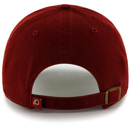 Washington Redskins NFL Unstructured Big Baseball Caps fits Sizes 3XL-4XL back view