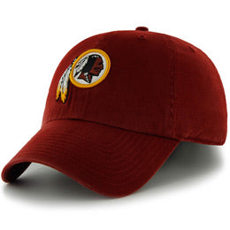 Washington Redskins NFL Unstructured Big Baseball Caps fits Sizes 3XL-4XL